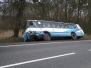 Wypadek autobusu z samochodem osobowym