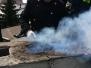 Pożar sadzy w kominie na ul. Tulipanowej