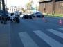 Wypadek z motocyklistą